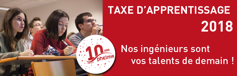 Phelma Taxe Apprentissage 2018 bandeau 810x260